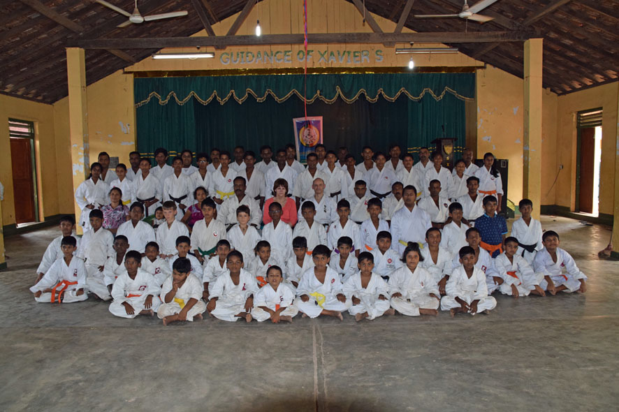 1. Tesshinkan-Seminar auf Sri Lanka