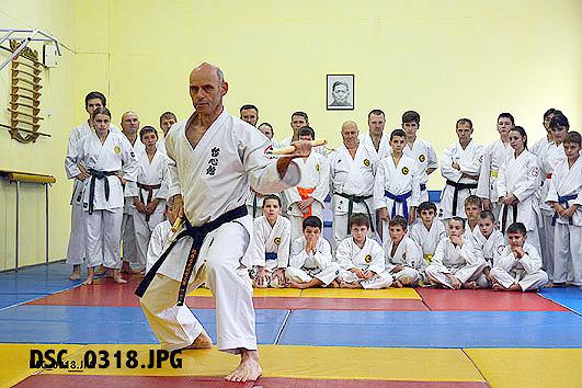 10th Ryûkyû Kobudô Tesshinkan Seminar in Tomsk / Siberia (RUS)