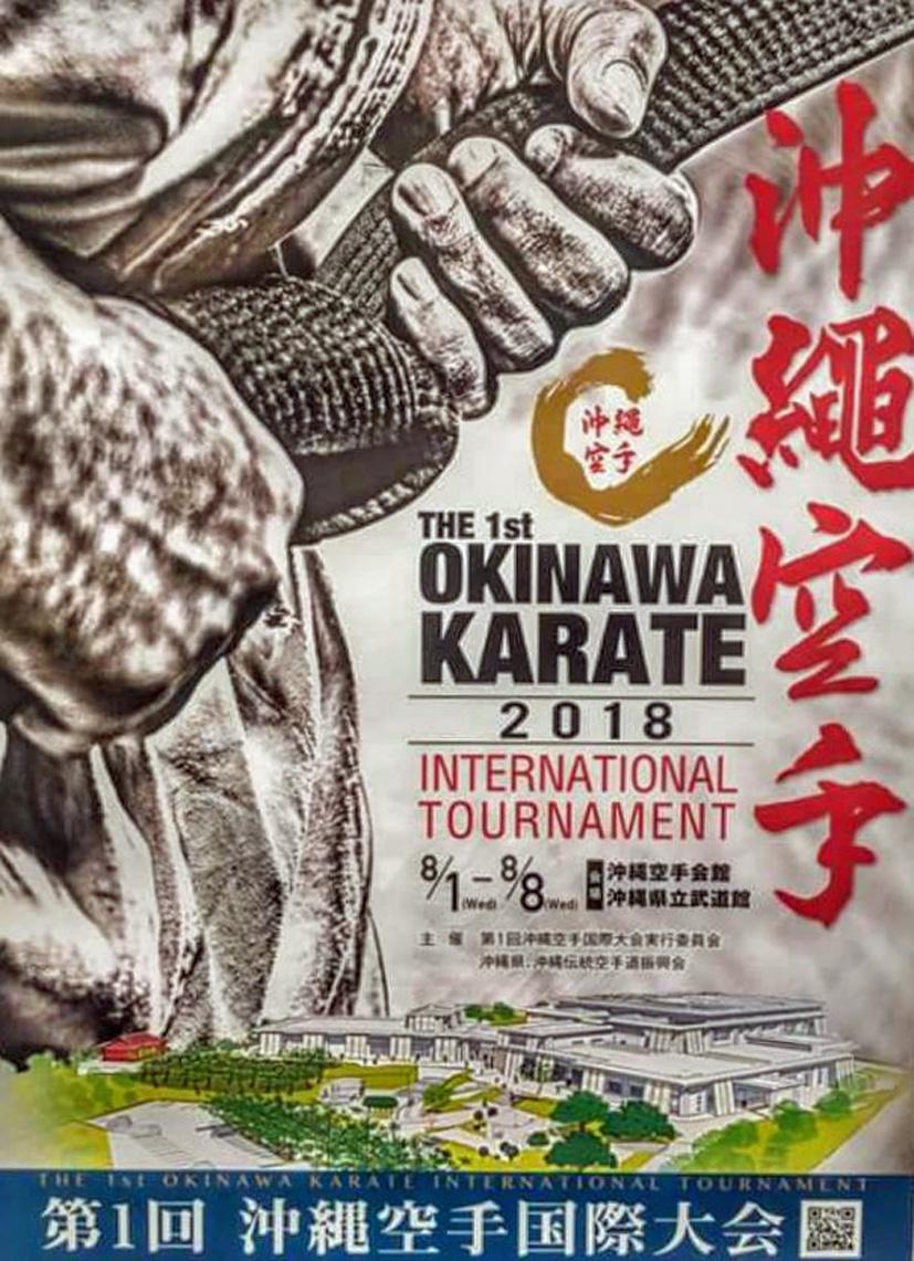 1st Okinawa Karate International Tournament
