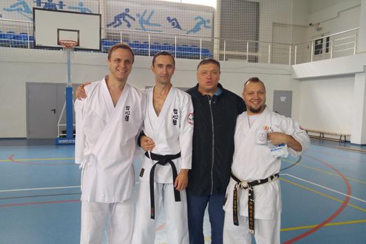2017 – Third Ryûkyû Kobudô Tesshinkan seminar in Voronezh (Russia)