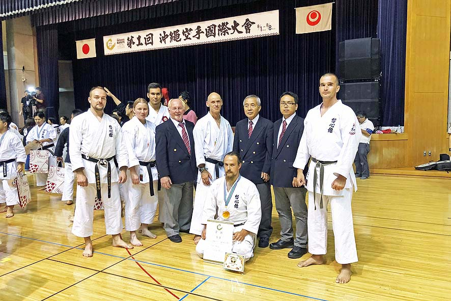 "Ergebnisse vom ""The 1st Okinawa Karate International Tournament"" in Naha / Okinawa"